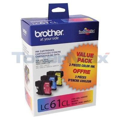 BROTHER MFC-6490CW INKJET CART TRI-COLOR